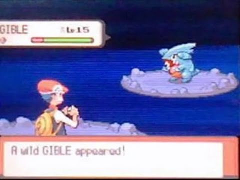 pokemon pearl how to get gible