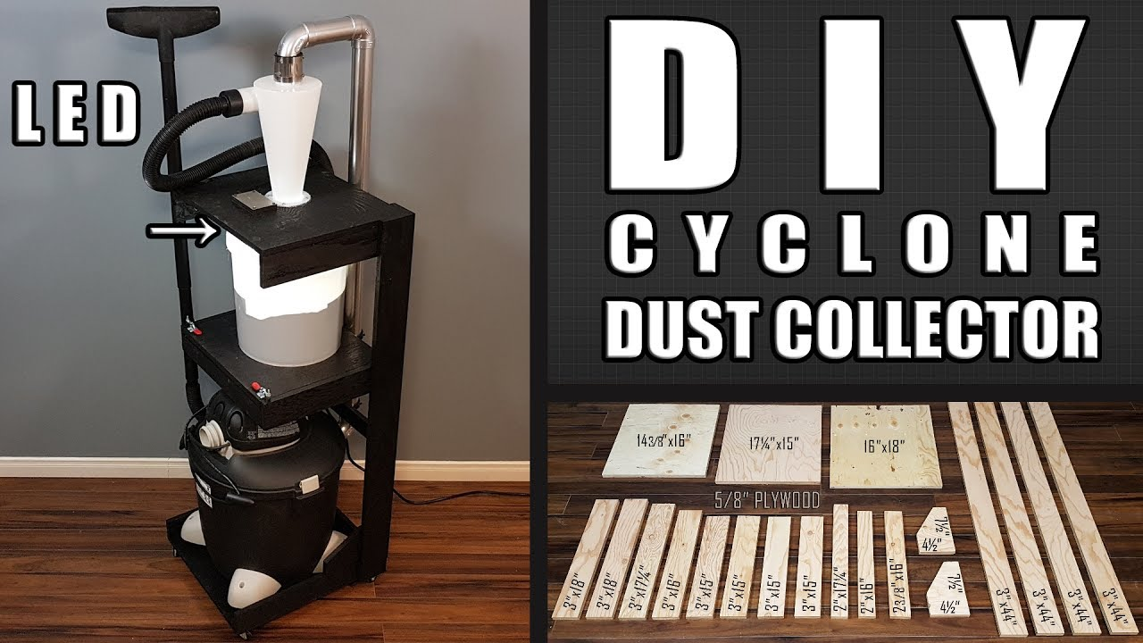 Diy Cyclone Dust Collector 10 Steps With Pictures Instructables