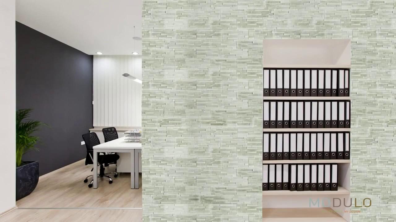 installation des plaquettes de parement int rieur modulo. Black Bedroom Furniture Sets. Home Design Ideas