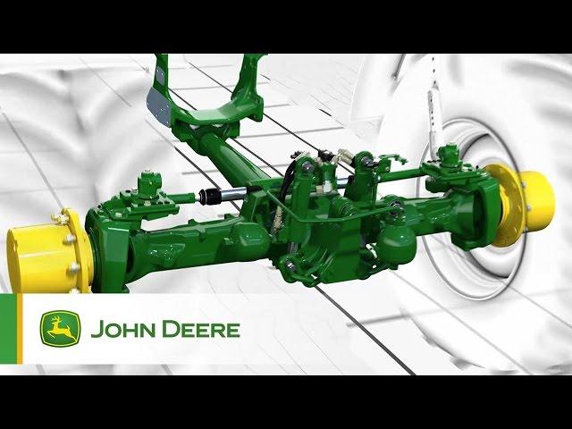 Serie 6R John Deere: Miglior comfort dell'operatore - Le sospensioni TLS Plus e HCS Plus