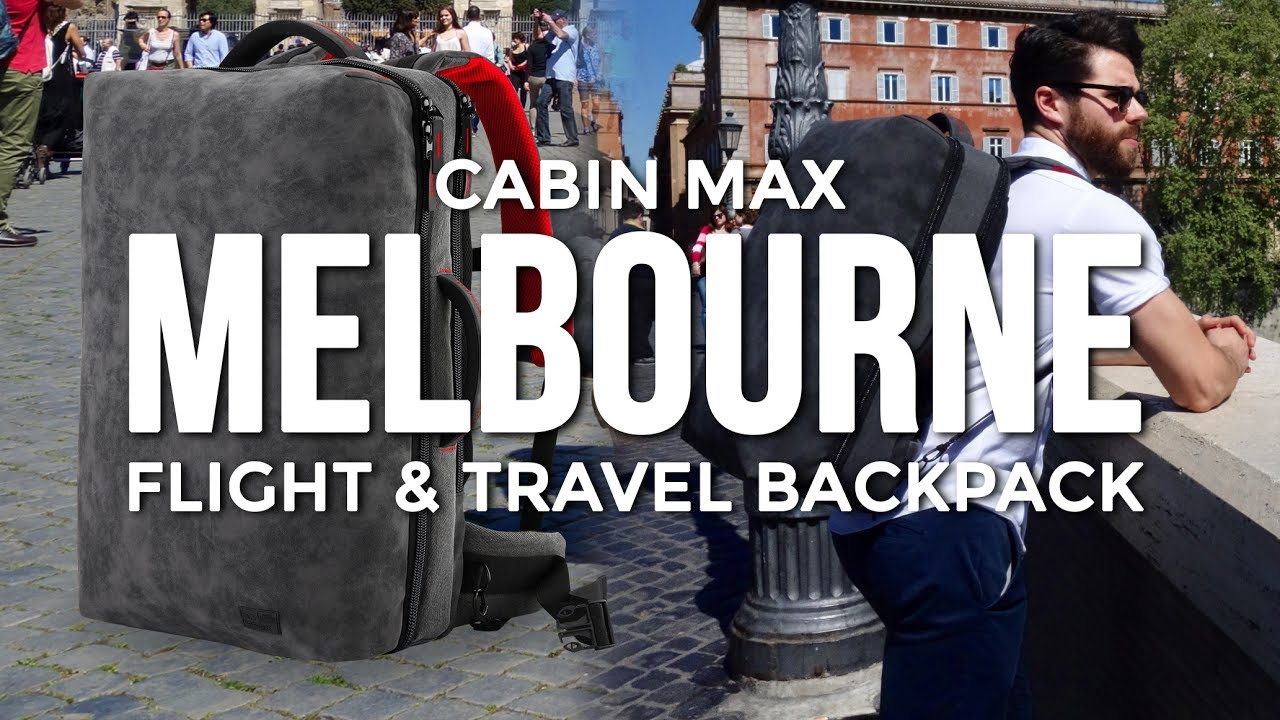 42ac6e0f0d Cabin Max Melbourne Advanced Flight   Travel Backpack - YouTube