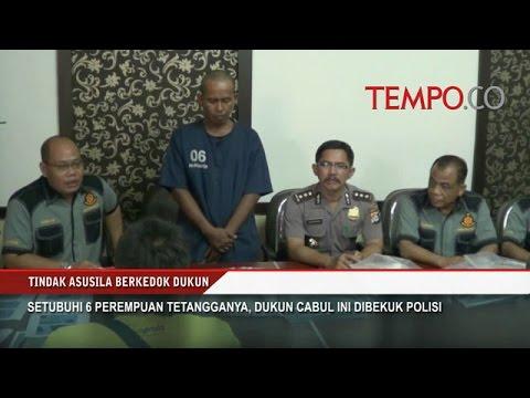 Setubuhi 6 Perempuan Tetangganya Dukun Cabul Ditangkap Polisi - YouTube