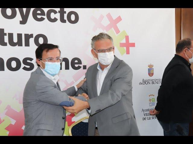 Presentación del proyecto Unión Don Benito-Villanueva: