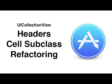 Swift: AppStore - UICollectionView Headers and Cell Subclassing