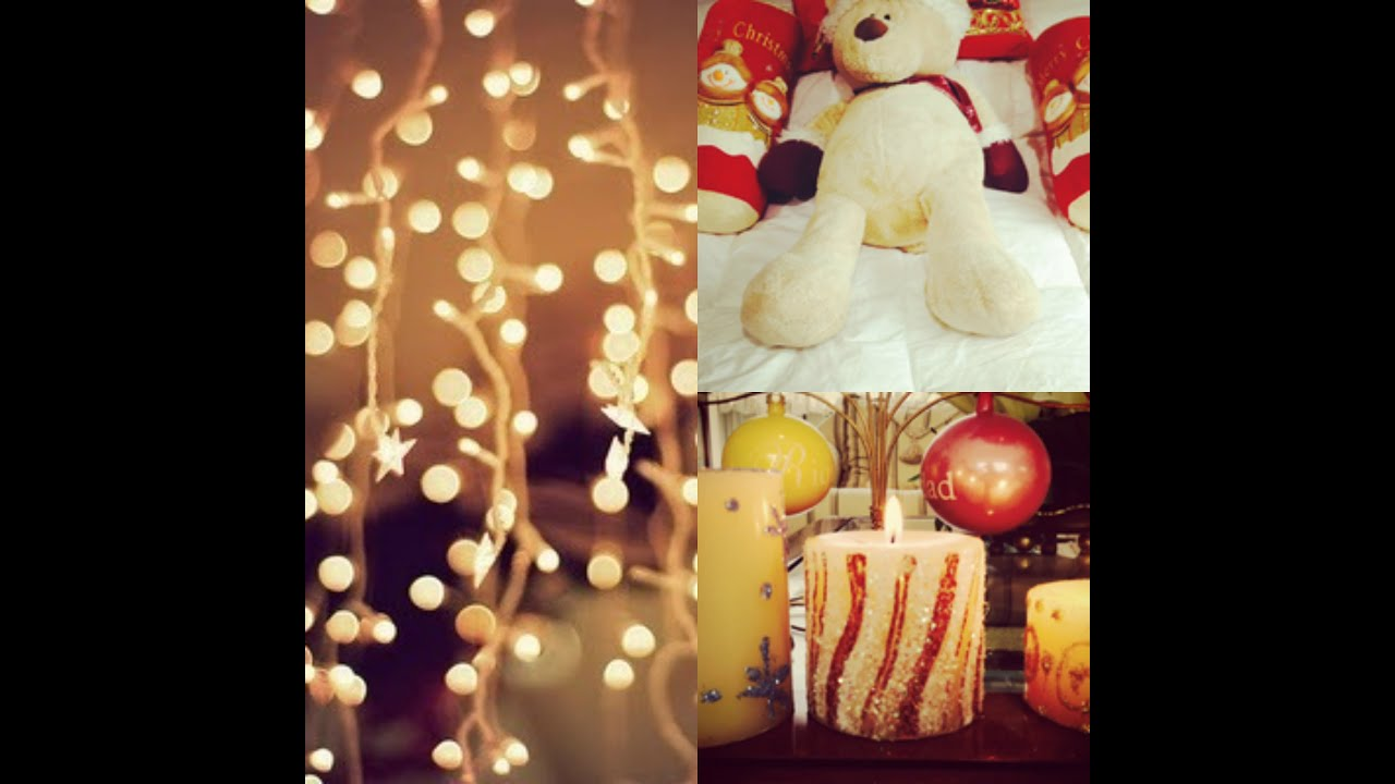 Decora tu cuarto navidad 2013 diy youtube for Ideas para decorar una recamara