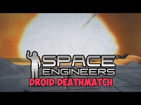 Drone Battle + Karaoke Party -  Space Engineers