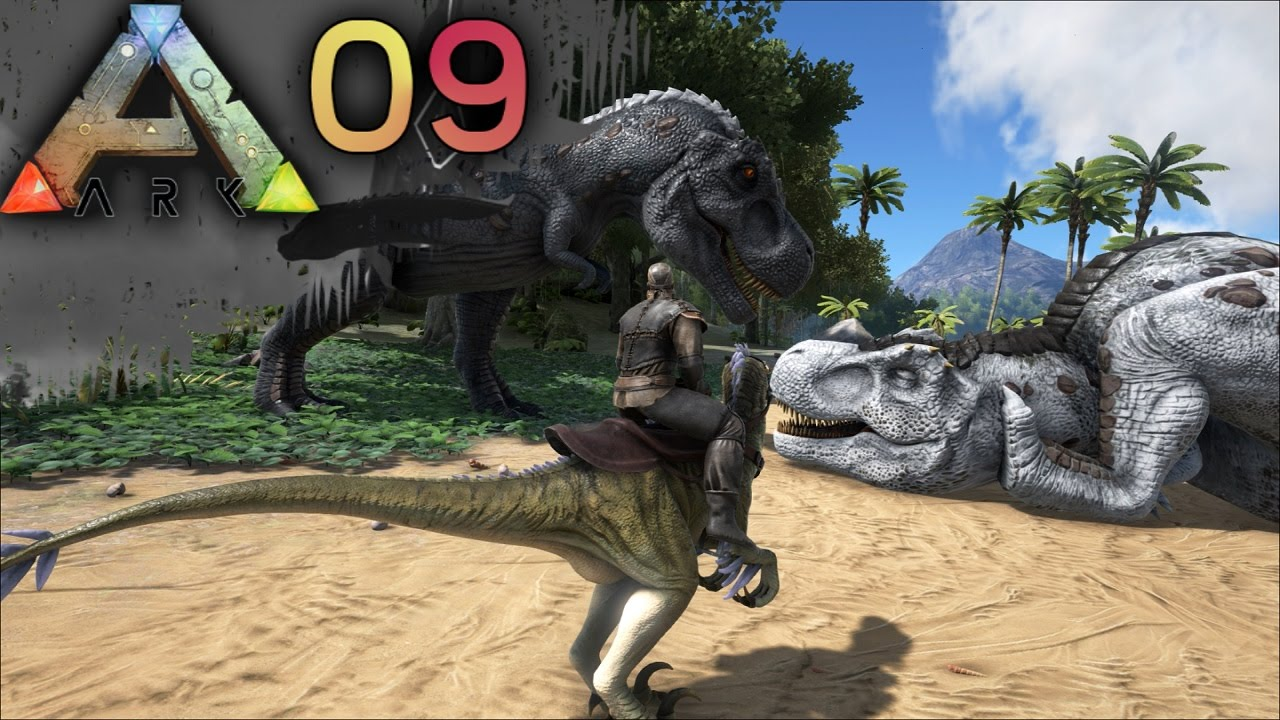 Ark Survival Evolved E09 - Big Butt Trex Taming