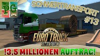 ETS2 SPECIAL-TRANSPORT🚚 - Ich bin REICH... Noch 😱 [Ger][HD] - Euro Truck Simulator 2 - ETS 2