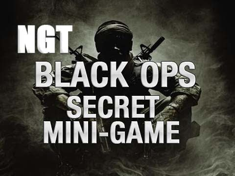 Black Ops Secret Mini-Game: Zork