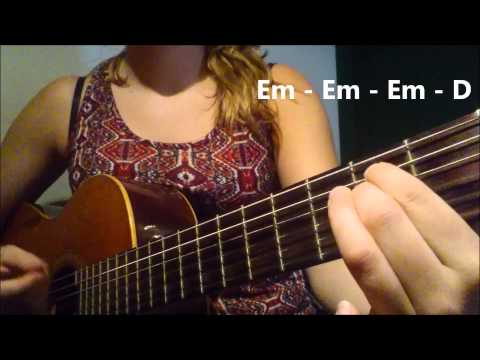 DAVID GUETTA ft. NICKI MINAJ - HEY MAMA how to play on GUITAR. EASY TUTORIAL