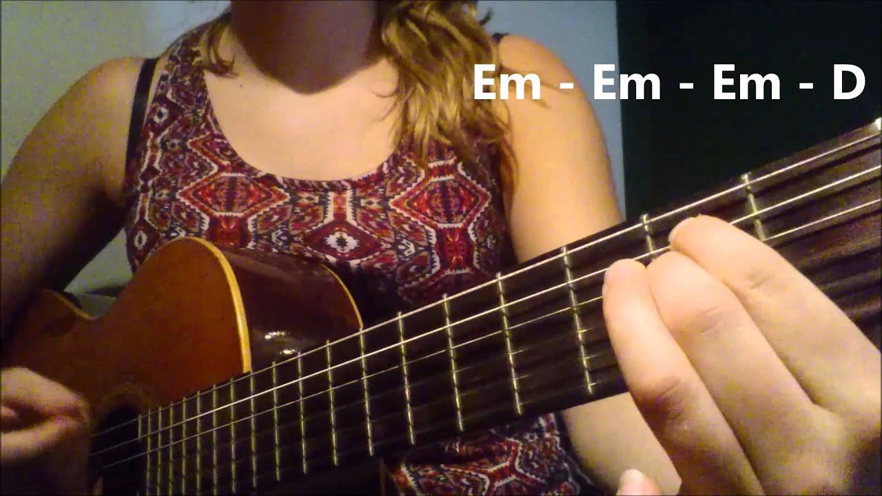 DAVID GUETTA ft. NICKI MINAJ - HEY MAMA how to play on GUITAR. EASY TUTORIAL - YouTube