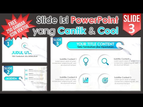 Slide PPT Cantik and Cool
