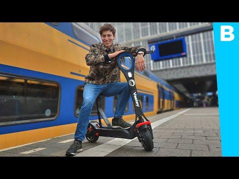 Deze Elektrische Step Mag WEL Op De Weg (en WIN Een Snelle E-step!)