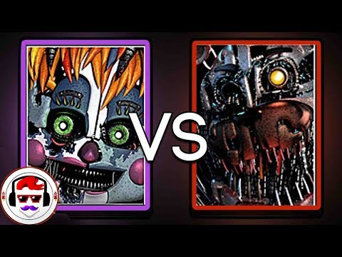 Five Nights At Freddy's Custom Night Rap Battle | Scrap Baby VS Molten Freddy | Rockit Gaming