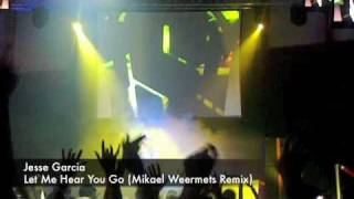 Roger Sanchez dropping Let Me Hear You Go (Mikael Weermets Remix)