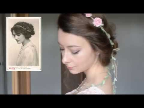 Easy Victorian Inspired Vintage Hairstyles