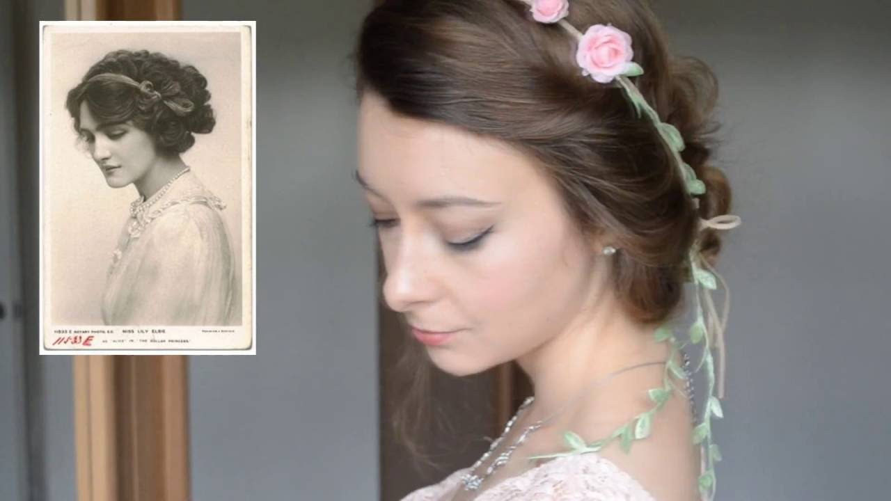 5 Easy Victorian Inspired Vintage Hairstyles | Tutorial | Kathryn Marie    YouTube