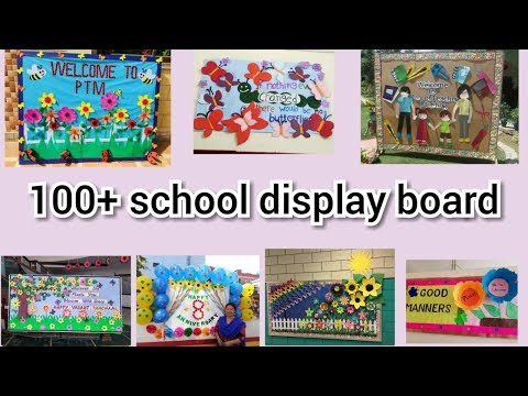 Top 100 School notice board decoration ideas || amazing display board ideas for school
