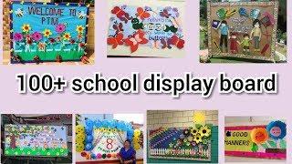 Top 100 School notice board decoration ideas    amazing display board ideas for school