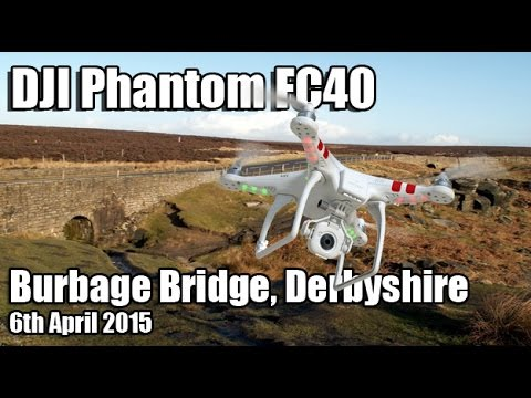 Flying The Phantom At Burbage Bridge In Derbyshire