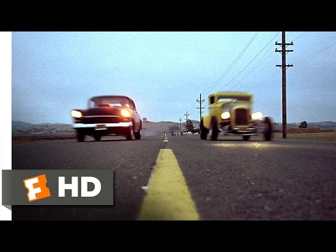 American Graffiti (10/10) Movie CLIP - Drag Race at Paradise Road (1973) HD
