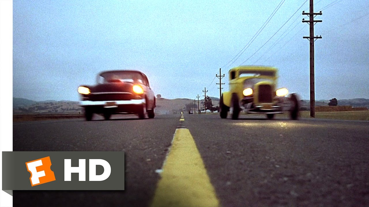 American Graffiti 10 10 Movie Clip Drag Race At Paradise Road
