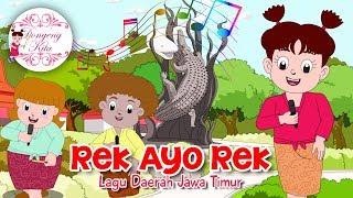 REK AYO REK | Lagu Daerah Jawa Timur | Budaya Indonesia | Dongeng Kita