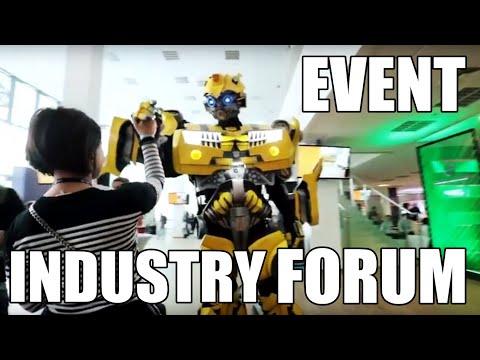Event Industry Forum and Robots Robot Costumes Ukraine