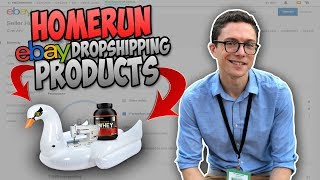 How To Find HOMERUN Ebay Dropshipping Products FAST - W/Paul J Lipsky