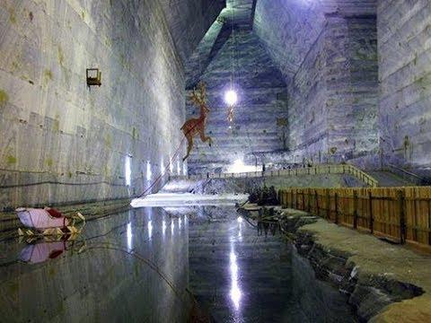 Europe's Largest Salt Mine Experience, Romania, Slanic Prahova