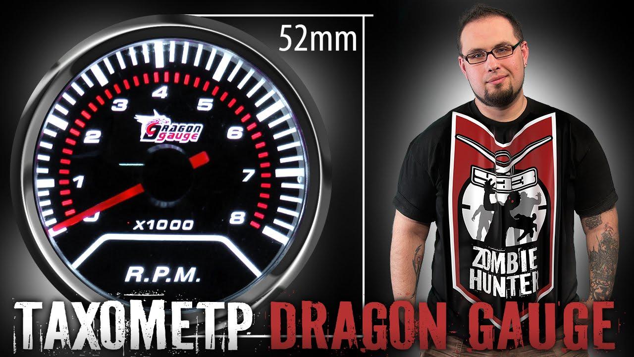 Tachometer Dragon Gauge 52mm. Обзор покупки для УАЗ