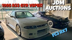 Finding RARE Cars at a Japanese Auction House!