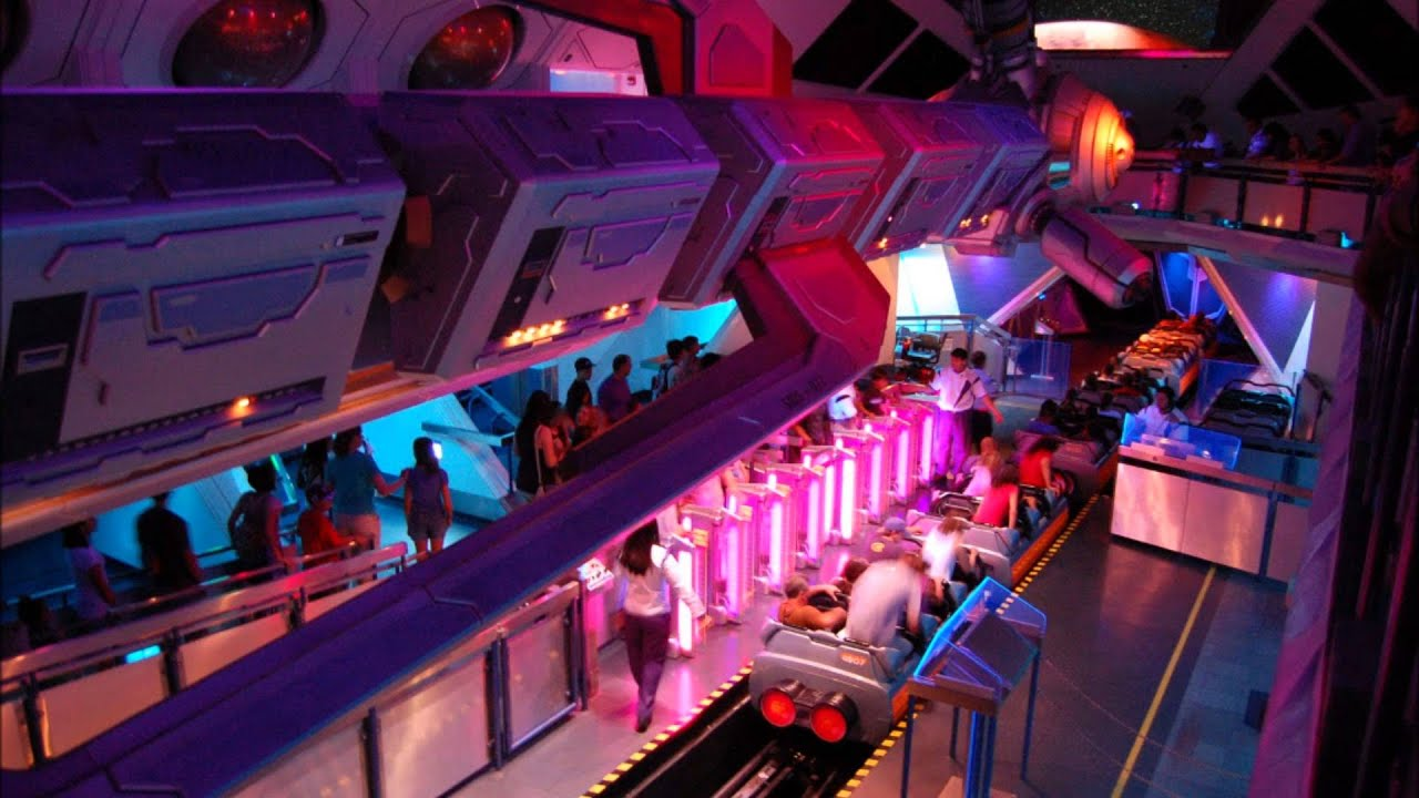 Space Mountain Station Music - YouTube