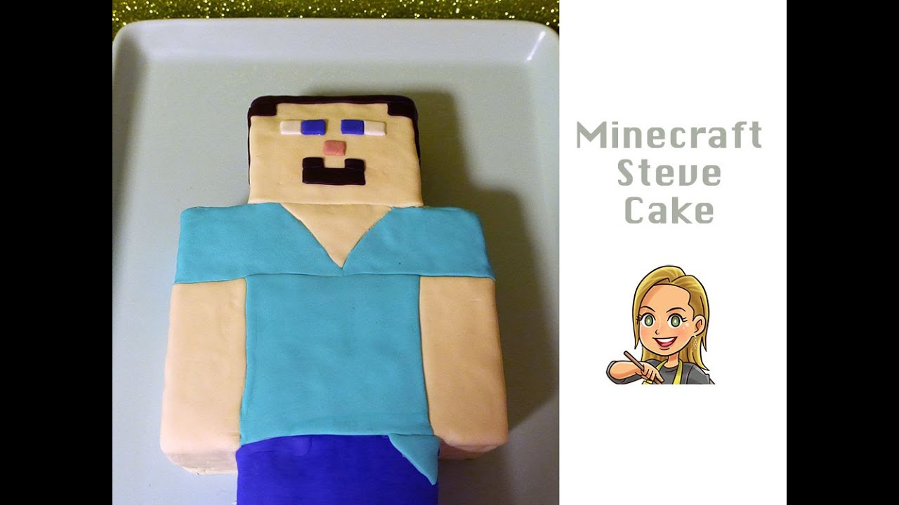 How To Make Steve From Minecraft Cake
