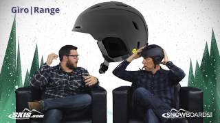 2016 Giro Range Helmet Overview by SkisDotCom and SnowboardsDotCom