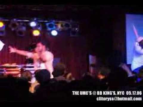 THE UMC'S - BLUE CHEESE *LIVE* (1min CLIP)