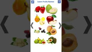 Learn Fruits Names App