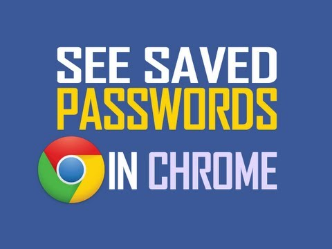 See saved passwords stored in Google Chrome [New Updated method]
