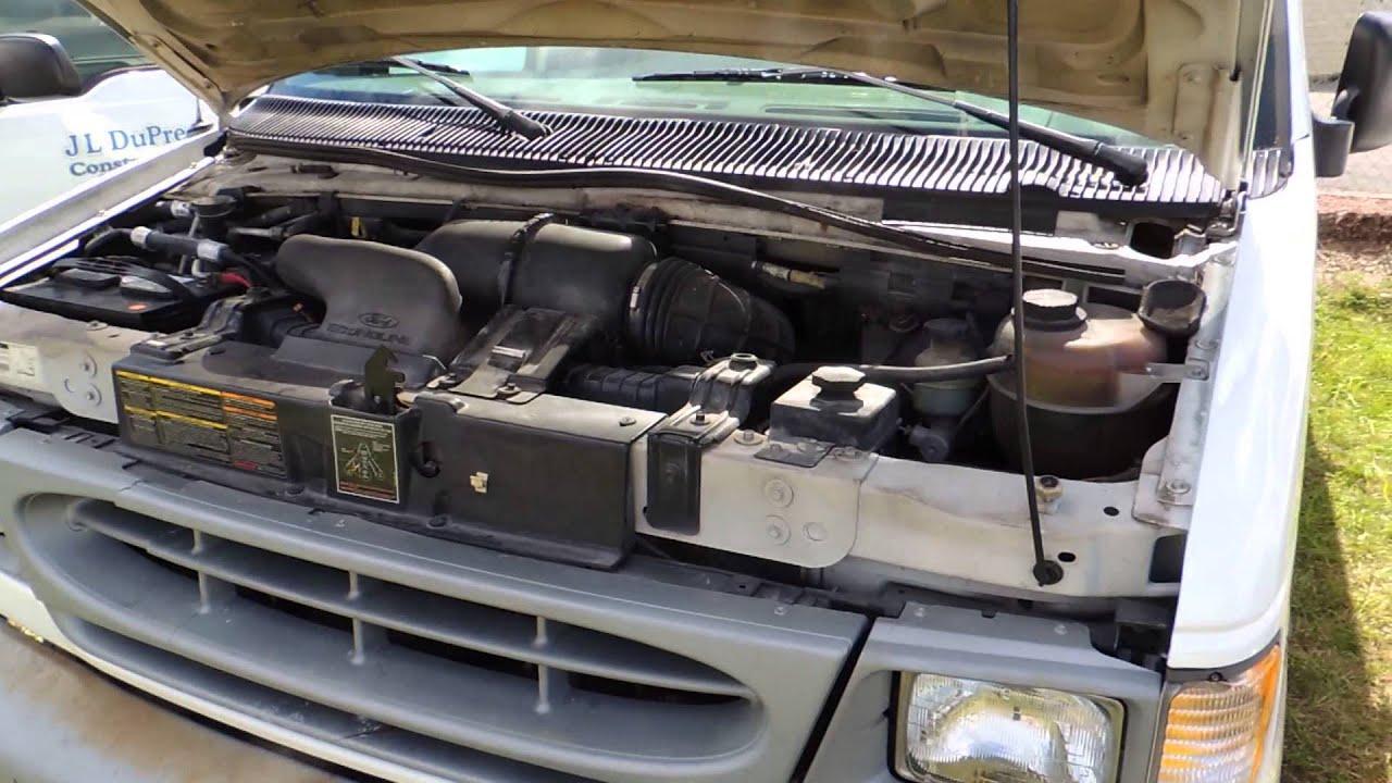302 Ford Engine Spark Plug Wiring Diagram 7 1999 Ford E 150 Econoline 4x2 Cargo Van Youtube