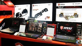 Liquid Cooled Hall of Fame + External GPU Dock - Galax Booth Overview - Computex 2017