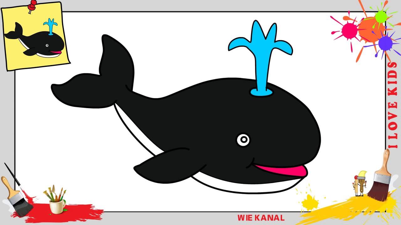 wal zeichnen kawaii schritt für schritt für anfänger