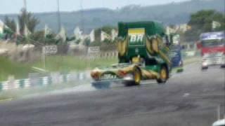 Show de Manobras na Fórmula Truck parte 01