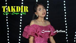 DANGDUT TAKDIR - Nais Larasati Cover ; Arfina STAR NADA music electone.