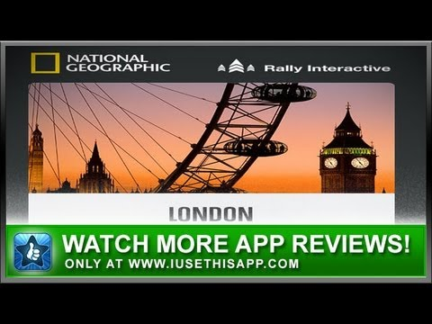 City Guides By National Geographic IPhone App Review - Travel Apps