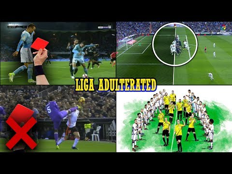 How Real Madrid Won La Liga Title 2016/2017 ? Referees Mistakes That Contributed To This