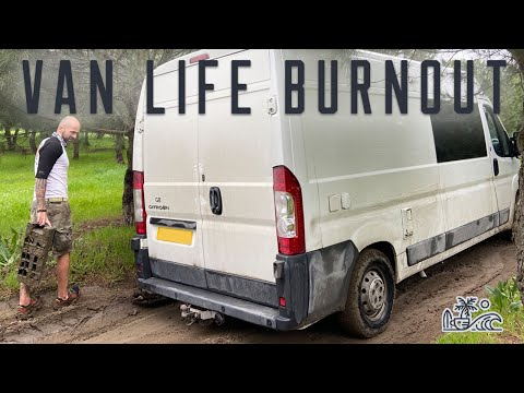 When Van Life SUCKS!! // Vanlife Turkey