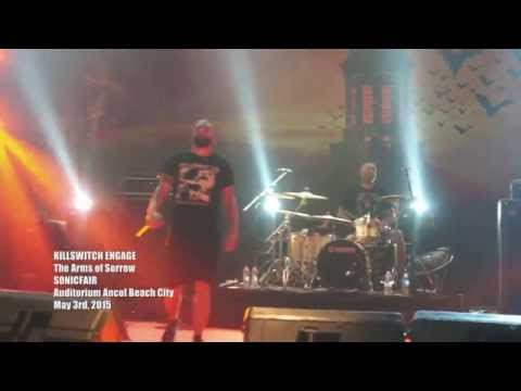 KILLSWITCH ENGAGE  The Arms of Sorrow SONICFAIR  2015