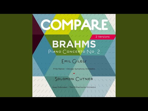 Piano Concerto No. 2 In B-Flat Major, Op. 83: I. Allegro Non Troppo