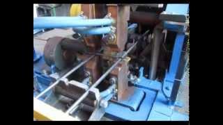 Машина автомат для контактной сварки каркасной сетки(Машина построена совместно силами ИП Родионова и КУП