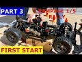 FIRST START -  Redcat Rampage XR Rally 1/5 gas RC (break in and after thoughts)